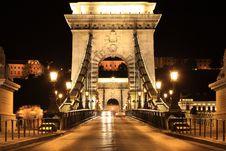 Free Chain Bridge Royalty Free Stock Photo - 13879635