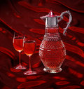 Free Glasses With Wine Royalty Free Stock Photos - 13884678