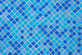 Free Blue Tiles Wall Royalty Free Stock Photography - 13884867