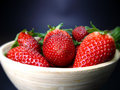 Free Bowl Of Strawberries Stock Photos - 13885363
