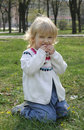 Free A Little Girl For A Walk Royalty Free Stock Photos - 13888048