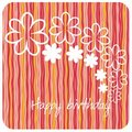 Free Postcard On Birthday Royalty Free Stock Images - 13888579