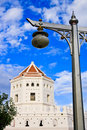 Free Old Fortress And Old Lamp In Thailand Stock Photo - 13889890