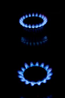 Free Blue Flame Stoves Stock Photos - 13881393