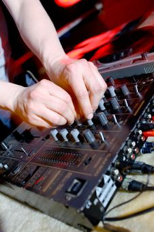 Free Dj Panel Music Stock Photo - 13881620