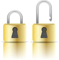 Free Illustration Of Padlock Royalty Free Stock Photos - 13881978