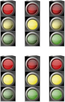 Free Traffic Light Royalty Free Stock Photo - 13882025