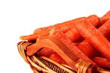 Carrot Crop Stock Photography