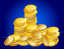 Free Golden Coins Stock Photos - 13882413