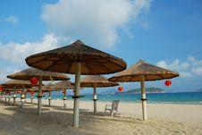 Free Beach Scenery Royalty Free Stock Photos - 13882628