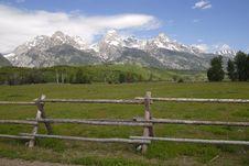 Free Teton View Stock Photography - 13882912