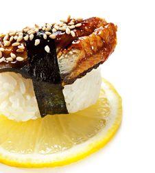 Free Eel Sushi Royalty Free Stock Photos - 13883488
