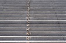Step With Lamp Royalty Free Stock Photos