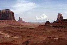 Free Monument Valley Vista Stock Image - 13884181