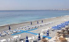 Free Promenade Des Anglais - Beach Stock Photos - 13885263