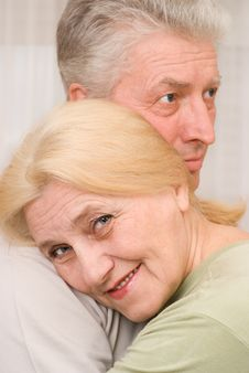 Free Elderly Couple Together Royalty Free Stock Images - 13885839