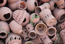 Free Terracotta Pots Royalty Free Stock Photography - 13886637