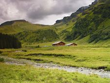 Free An Austrian Landscape Royalty Free Stock Photos - 13886678