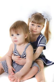 Free Two Young Sisters Stock Photos - 13887743