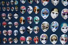 Free Carnival Masks For Sale, Venice Royalty Free Stock Photos - 13887888