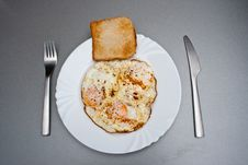 Free Curry Sunny-side Eggs Royalty Free Stock Photography - 13888117