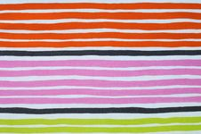 Free Bright Striped Fabric Royalty Free Stock Image - 13888386