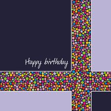 Free Postcard On Birthday Stock Photo - 13888600