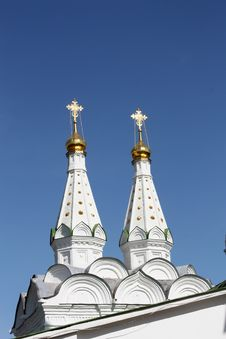Free Domes Of The Orthodox Church Royalty Free Stock Image - 13888926