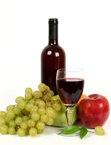 Free Wine And Fruit Royalty Free Stock Images - 13889589