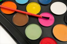 Painting Set. Stock Images