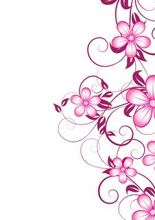 Free Abstract Floral Background Royalty Free Stock Image - 13889826