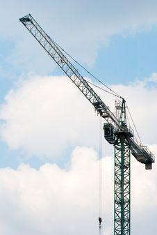 Free Crane Royalty Free Stock Photos - 13889828