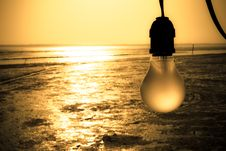 Free Lamp And Wetland Stock Image - 13889871