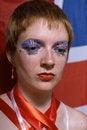 Free Great Britain Flag Face Art Stock Photos - 13892453