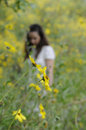 Free Woman In Nature Stock Images - 13894884
