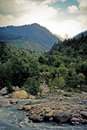 Free Fast Mountain River. Stock Photo - 13895880