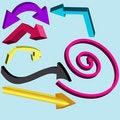 Free Set Of Arrows Stock Photo - 13897740