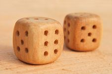 Free Wooden Cubes Stock Photography - 13890102