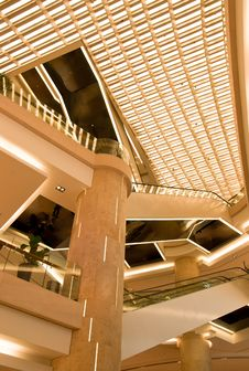 Free Interior Of A Shopping Mall Stock Images - 13890164