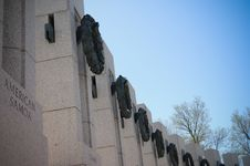 Free World War II Memorial Stock Image - 13890731