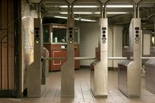 Free Subway Station Stock Photos - 13890863