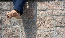 Free Bare Feet; Carefree Stock Photos - 13891213