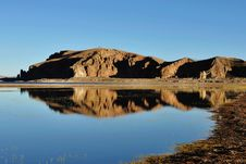 Free Zhaxi Peninsula  Of Namco Lake Stock Images - 13891494