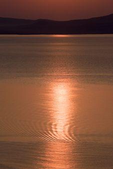 Free Sun Ligh Path On Sea Stock Image - 13892271