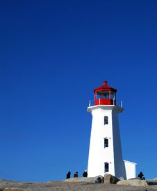 Free Peggy S Cove Lighthouse Stock Photo - 13892450