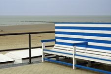 Free Bench At Seaside Stock Photos - 13892593