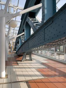 Free Bridge. Moscow. Stock Photo - 13892600