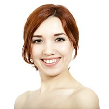 Free Smiling Girl Royalty Free Stock Photography - 13892687