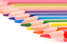 Free Multicolor Pencils Royalty Free Stock Images - 13892919