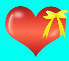Free Abstract Valentine S Day Gift Stock Photos - 13892923